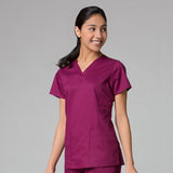 Maevn EON V-Neck Scrub Top - 1708 - Mary Avenue Scrubs  - 5
