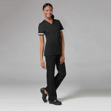 Maevn Inner Beauty V-Neck Top - 1722 - Mary Avenue Scrubs  - 1
