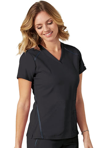 iMPACT by Grey's Anatomy V-Neck Solid Top - 7188