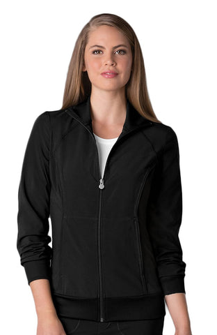 Infinity by Cherokee Zip Front Warm-Up Solid Scrub Jacket - 2391A