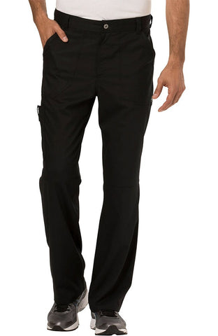 Revolution by Cherokee Workwear Men's Zip Fly Cargo Pant - WW140