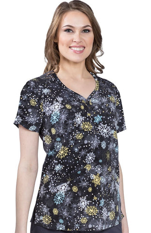 Premiere by Healing Hands Isabel Print Top - 2218-LIS