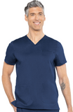 RothWear by Med Couture Men's Wescott Scrub Top - 7477