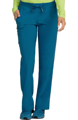 Activate by Med Couture Transformer Knit Waistband Drawstring Scrub Pant - 8747