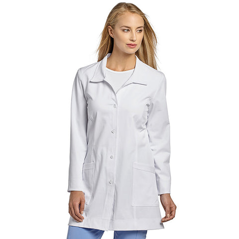 "Marvella by White Cross Long Sleeve 32"" Lab Coat - 2418"