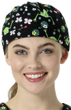 Zoe and Chloe Women's Adjustable Animal Print Scrub Hat - Z44002