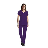 Grey's Anatomy Three Pocket Criss Cross V-Neck Top - 2115 - Mary Avenue Scrubs  - 3
