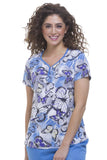 Healing Hands Purple Diva Isabel Top - 2218-BBA