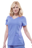Healing Hands Purple Label Yoga Juliete Top - 2245 - Mary Avenue Scrubs  - 2