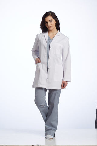 White Cross Basic 3 Pocket Lab Coat - 2411 - Mary Avenue Scrubs