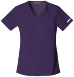 Cherokee V-Neck Knit Panel Top - 2968 - Mary Avenue Scrubs  - 7