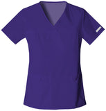 Cherokee V-Neck Knit Panel Top - 2968 - Mary Avenue Scrubs  - 8