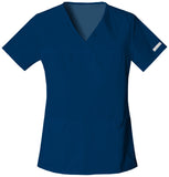 Cherokee V-Neck Knit Panel Top - 2968 - Mary Avenue Scrubs  - 4