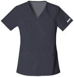 Cherokee V-Neck Knit Panel Top - 2968 - Mary Avenue Scrubs  - 5