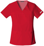 Cherokee V-Neck Knit Panel Top - 2968 - Mary Avenue Scrubs  - 3