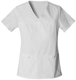 Cherokee V-Neck Knit Panel Top - 2968 - Mary Avenue Scrubs  - 1
