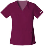 Cherokee V-Neck Knit Panel Top - 2968 - Mary Avenue Scrubs  - 6