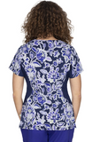 Premiere by Healing Hands Women's Jessi Folklore Floral Print Top - 2270-FOL