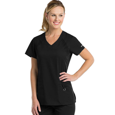 Active by Grey's Anatomy V-Neck Solid Top - 41447