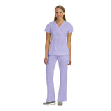 Grey's Anatomy Three Pocket Mock Wrap Top - 4153 - Mary Avenue Scrubs  - 7