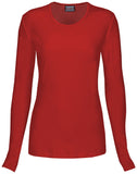 Cherokee Long Sleeve Knit Tee - 4881 - Mary Avenue Scrubs
