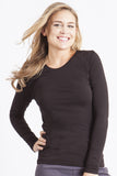 Healing Hands Melissa Soft Stretch Long Sleeve Knit Tee - 5047 - Mary Avenue Scrubs  - 2