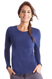 Healing Hands Melissa Soft Stretch Long Sleeve Knit Tee - 5047 - Mary Avenue Scrubs  - 1