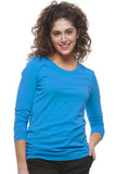 Healing Hands Melissa Soft Stretch Long Sleeve Knit Tee - 5047
