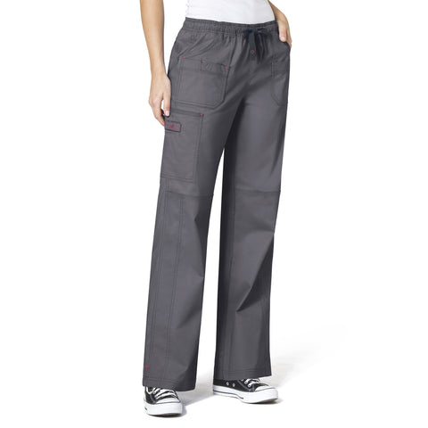 WonderWink Faith Multi-Pocket Cargo Pant - 5108 - Mary Avenue Scrubs  - 4
