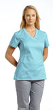 White Cross Allure V-Neck Scrub Top - 722 - Mary Avenue Scrubs  - 9