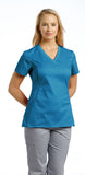 White Cross Allure V-Neck Scrub Top - 722 - Mary Avenue Scrubs  - 8