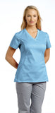 White Cross Allure V-Neck Scrub Top - 722 - Mary Avenue Scrubs  - 7