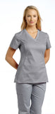 White Cross Allure V-Neck Scrub Top - 722 - Mary Avenue Scrubs  - 10