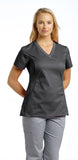 White Cross Allure V-Neck Scrub Top - 722 - Mary Avenue Scrubs  - 5