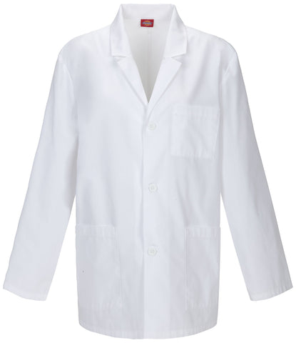 "Dickies 31"" Men's Lab Coat - 81404 - Mary Avenue Scrubs"