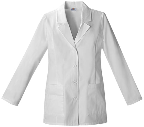 "Dickies 29"" Sectional Pocket Women's Lab Coat - 84406 - Mary Avenue Scrubs"