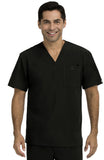 Activate by Med Couture Men's Sport V-Neck Solid Top - 8530