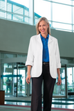 "Meta Ladies 29"" 3/4 Sleeve Stretch Lab Coat - 871 - Mary Avenue Scrubs  - 1"