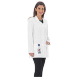 "Meta 32"" Ladies Princess Seam Lab Coat - 893 - Mary Avenue Scrubs  - 1"