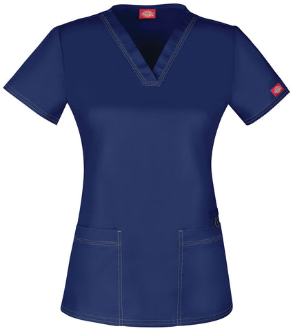Gen Flex by Dickies Youtility V-Neck Top - DK800 - Mary Avenue Scrubs  - 2