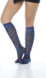 Cherokee Knee Highs 12 mmHg Compression Socks - Fashion Support