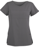 Grey's Anatomy Two Pocket Soft V-Neck Top - 2120