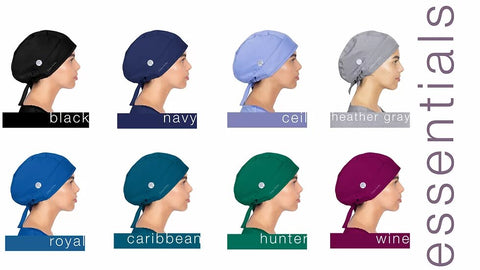 Healing Hands Sawyer Adjustable Tie-Back Skull Cap - 1000