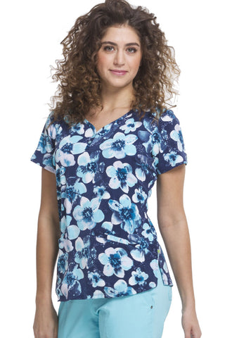 Healing Hands Sweet Nature Floral Isabel Print Top - 2218-SNA