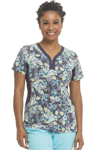 8005f3f6a96 Premiere by Healing Hands Jessi Floral Print Top - 2270-PFI – Mary ...