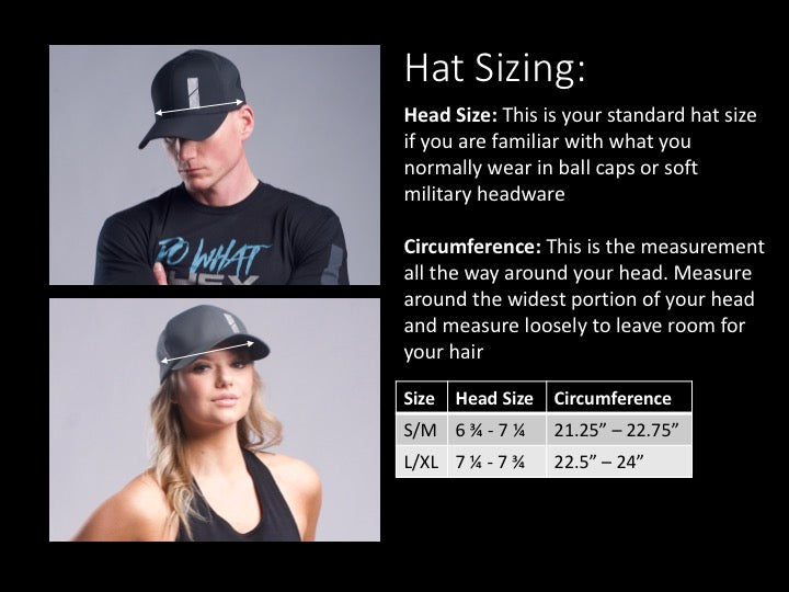 Iron Dome Hats Sizing Guide