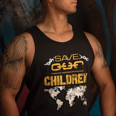 Save OUR Children Tank - Iron Apparel