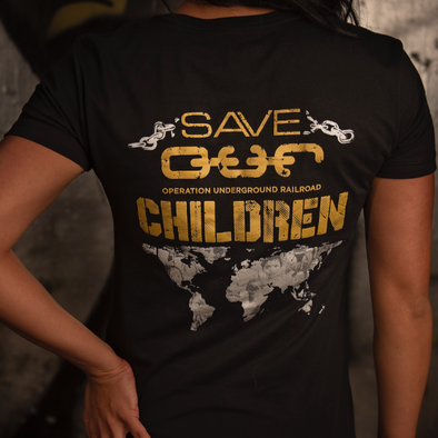Save OUR Children Women's - Iron Apparel