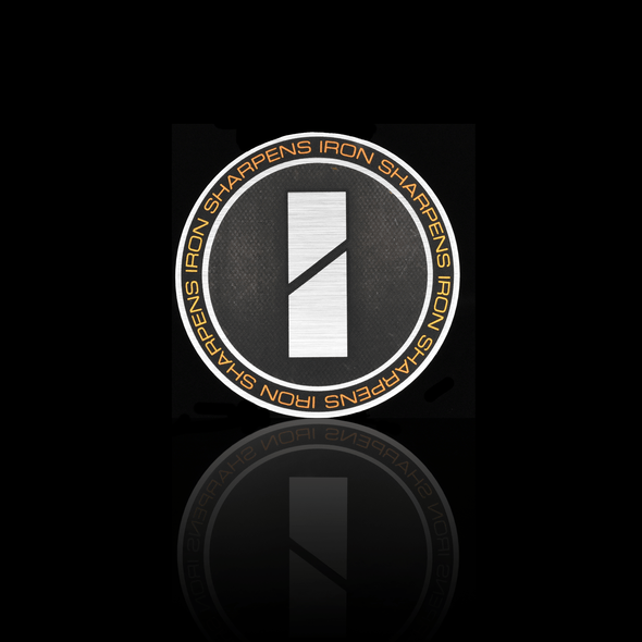 Circle Logo Sticker - Iron Apparel