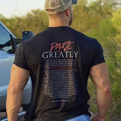 Dare Greatly Mens - Iron Apparel